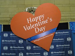 Pitney Bowes sends Valentines to the Soldiers!