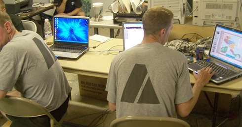 Laptops from AnySoldier.com Supporters