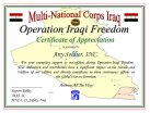 Multi-National Corps, Iraq