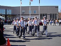 Oak Ridge Military Academy Honor Guard Exhibition Armed Platoon performs